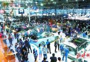 假期第一天北京车展迎来观展热潮 开展一小时限流十几次