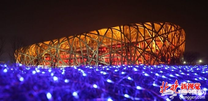 今年是鸟巢建成及北京奥运举办10周年 京剧灯光交响乐亮相鸟巢[墙根网]