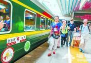 """""""京和号""""旅游专列再首发 今年新增哈密停靠站点"""