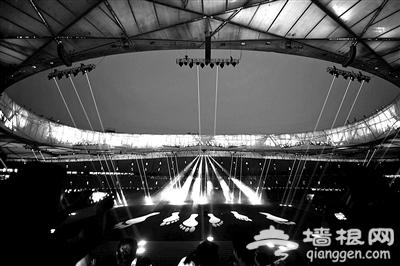 今年鸟巢将首次推出夜间小剧场 1500盏灯光特色交响秀亮相