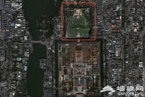 世界未解之谜:北京景山公园坐像,是巧合还是意外呢?[墙根网]