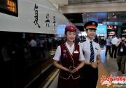 """京津城际运营满10年 今起全部更换为""""复兴号""""列车"""
