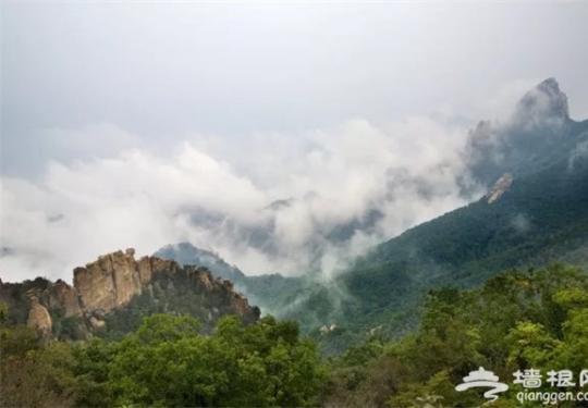 """看黄山不用去安徽,北京隔壁就有一座美爆的""""小黄山""""啊…"""