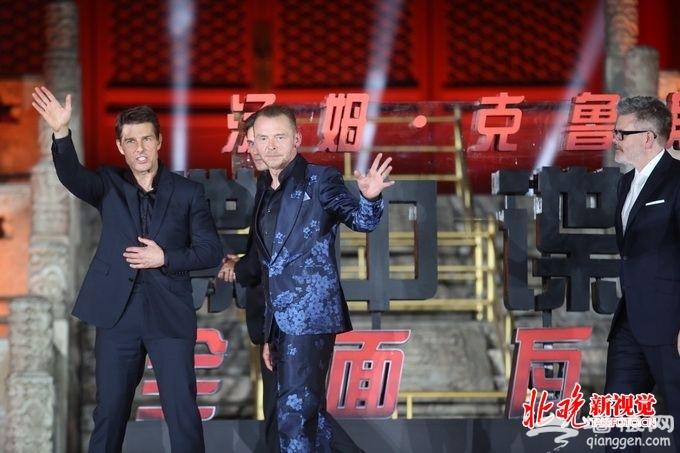 北京太庙举行《碟中谍6》首映式 导演携主演阿汤哥等亮相[墙根网]