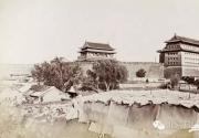 老北京阜成门拆除前长这样 瓮城内瓦罐据说能当手榴弹?