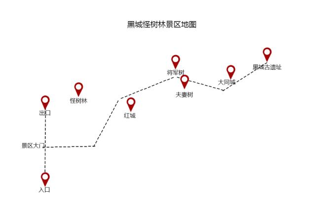 额济纳胡杨林旅游攻略 | 附交通+住宿+路线[墙根网]