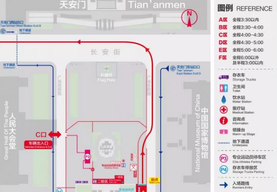 2018北京马拉松最全赛事攻略(线路+检录+补给)