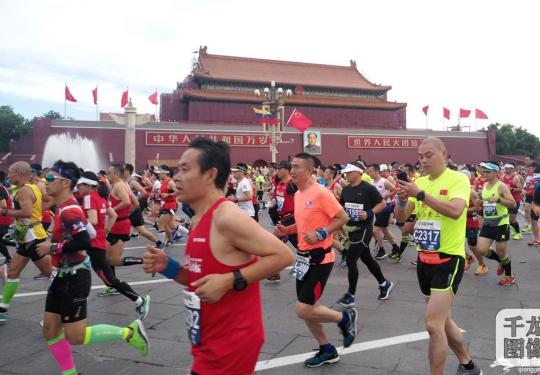 北京马拉松为什么这么被追捧? 因为沿途的景观别地没有