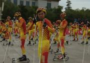 北京马拉松融入冰雪元素