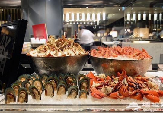 北京人气海鲜自助餐,享受海鲜全家福!