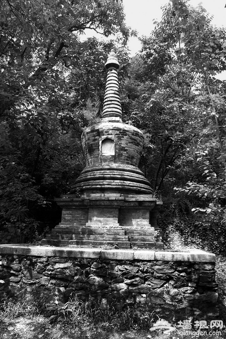 忽必烈女儿在京西潭柘寺出家 塔林中虎塔葬的是只吃素老虎?[墙根网]