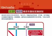 2018国庆节上海多条地铁深夜将实施延时运营