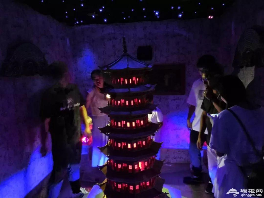 2018北京欢乐谷万圣节精绝古城鬼屋攻略[墙根网]