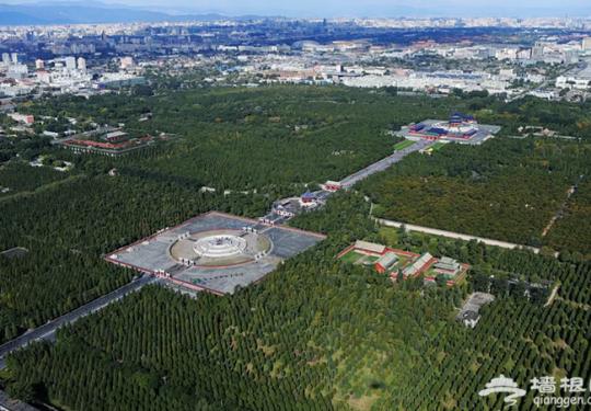 完整的北京天坛要回来了!医院、机械厂、居民区全搬走,来看前后对比