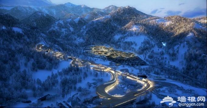 延庆冬奥森林公园预计明年底前建成 冰雪休闲小镇落户张山营镇