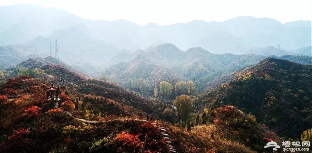 2018北京昌平韩台村红叶观赏攻略[墙根网]