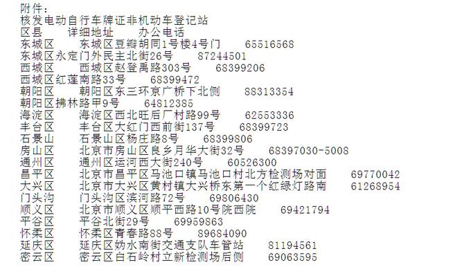 北京過渡期電動車申請臨時標識已開通 今日可網上預約[墻根網]