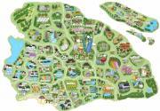 手绘地图带你足不出沪游沪郊 上海50个休闲好去处
