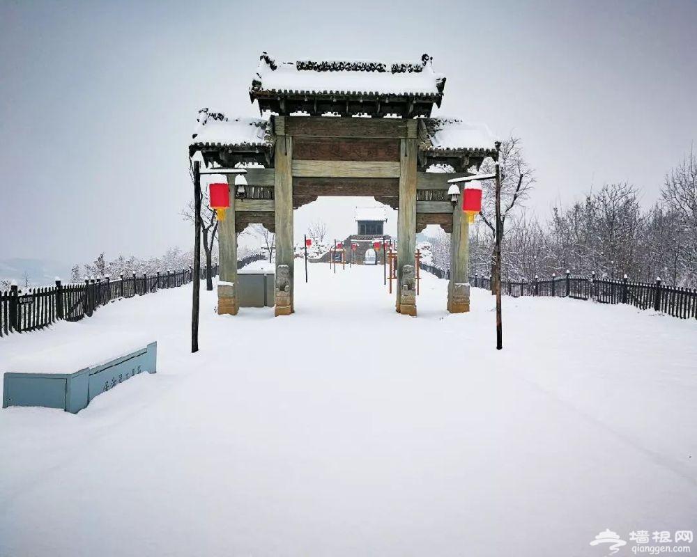 西安白鹿原影视城冰雪欢乐谷旅游攻略[墙根网]