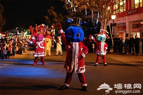 201--2019上海欢乐谷跨年灯会游玩攻略