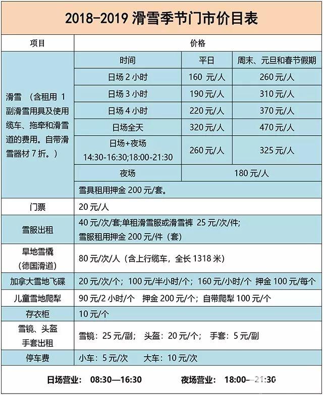 北京滑雪场开放时间一览 最低仅9.9元/人[墙根网]