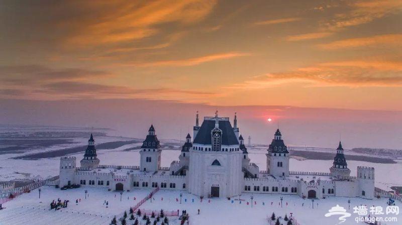 2017哈尔滨呼兰河口欢乐冰雪世界时间 门票 地点一览