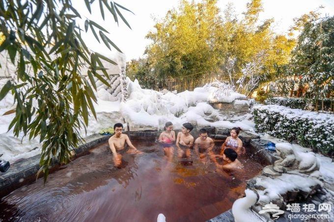 北京市区最近的冰雪嘉年华在静之湖拉开序幕[墙根网]