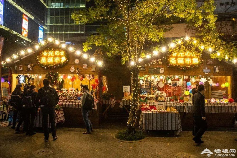 2018上海虹桥天地圣诞木屋市集来袭  冬季狂欢开启