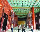 """老北京中轴线上第二大建筑群修复 看景山寿皇殿如何重现""""真容"""""""