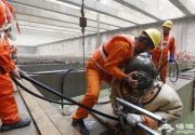 北京地铁8号线永定门外站月底开通 曾调用70多名潜水员施工