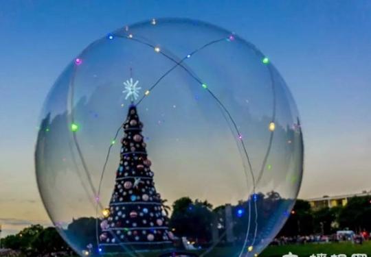 速来打卡!北京这处时尚胜地,圣诞树、小火车已就位,带上小伙伴来拍照!