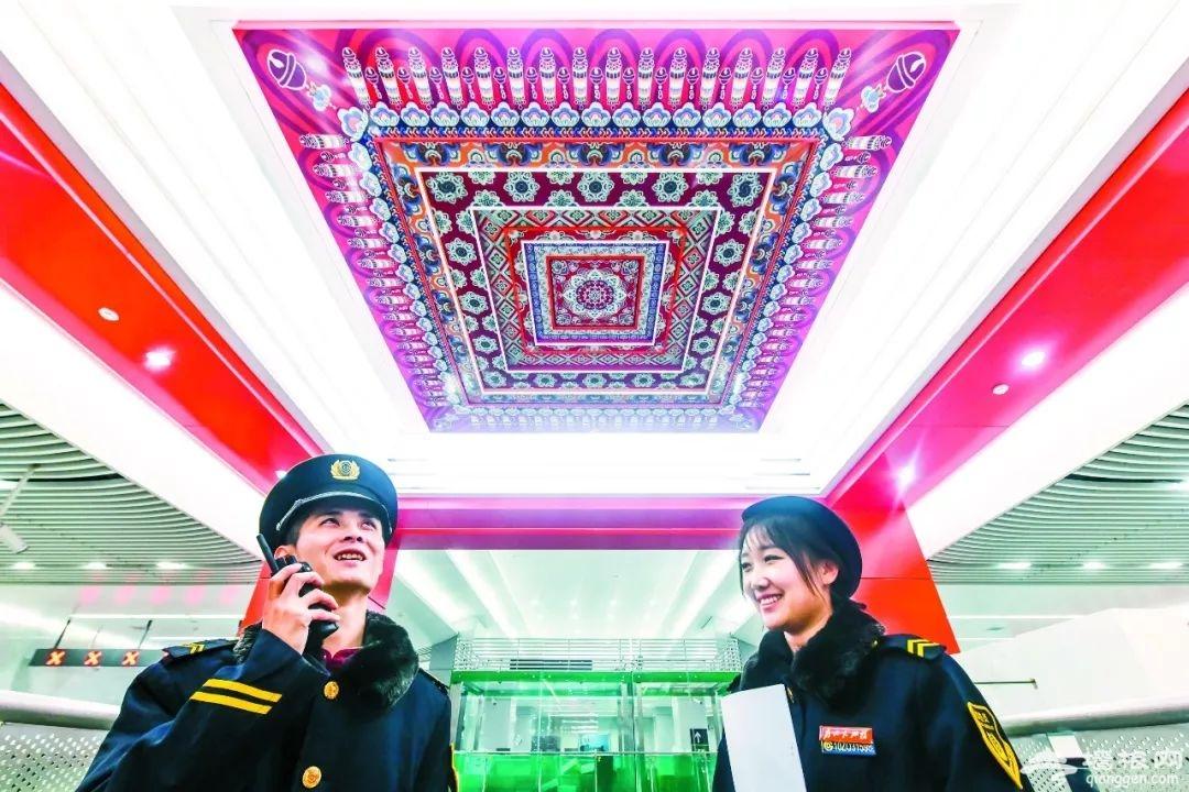 """探秘北京""""地下南中轴"""":边乘地铁边看故事 现代化设施一应俱全[分分时时彩企图网]"""