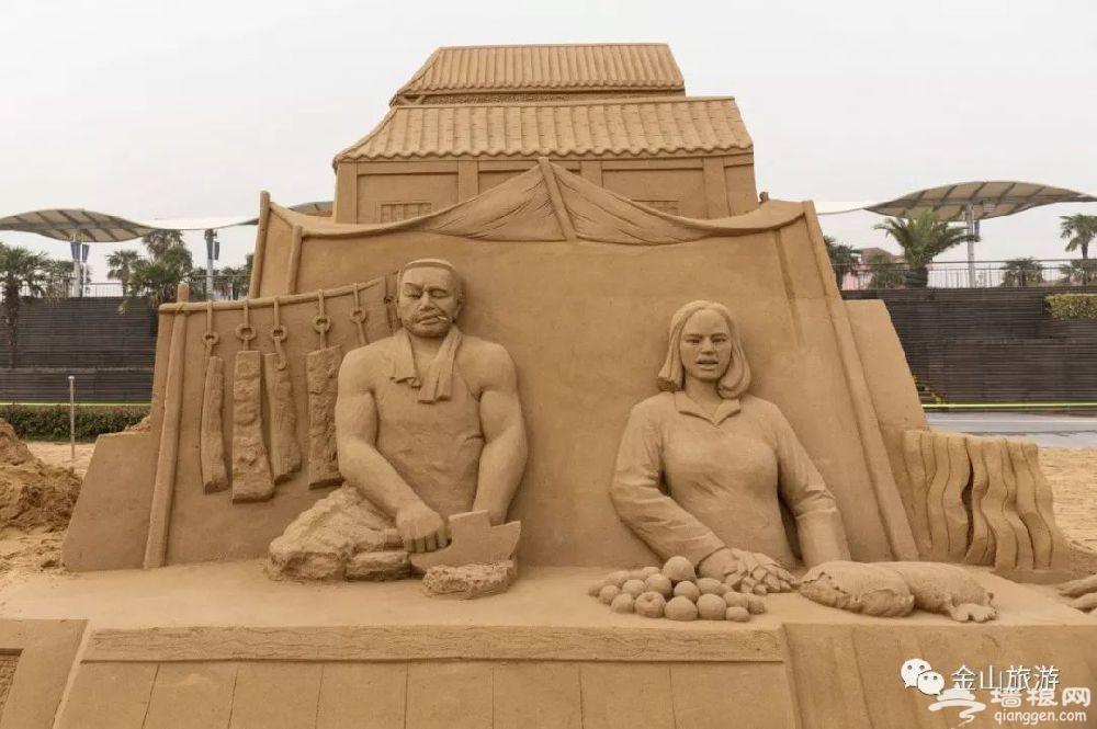 2018上海金山城市沙滩国际沙雕展12月28日开幕[墙根网]