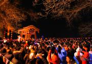 """戒台寺将在12月31日晚间举行""""戒台鸣钟声,梵音送吉祥""""敲钟祈福活动"""