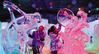 龙庆峡冰灯预计1月中旬开,你知道吗?
