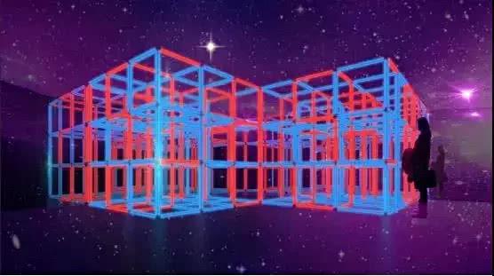 长楹天街halobox光之盒超火爆灯光秀(时间+地点+票价)[墙根网]