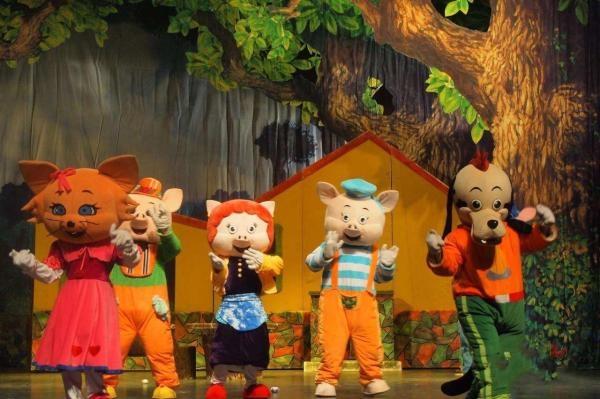 2019儿童剧《三只小猪》北京站时间、地点、购票指南[墙根网]