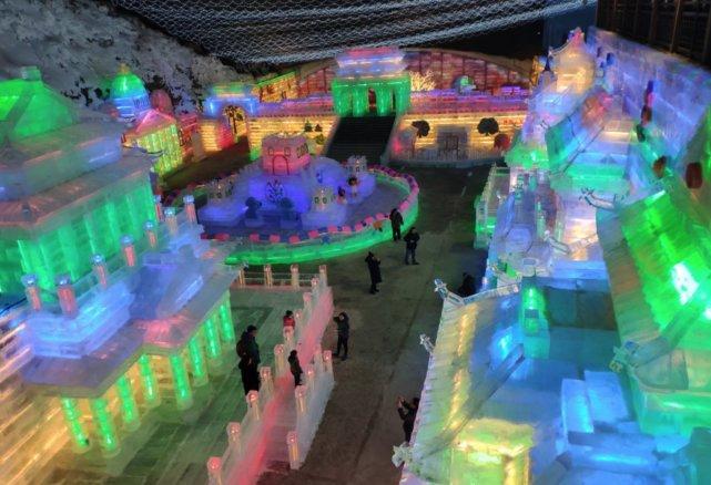 2019龙庆峡冰灯展试营业 1月15日正式开业[墙根网]