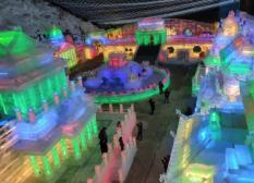2019龙庆峡冰灯展试营业 1月15日正式开业