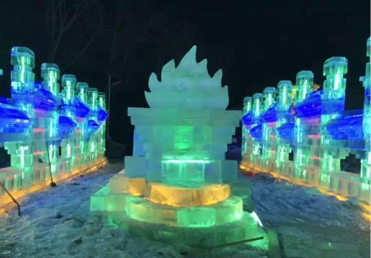 """1月12日第一届""""灵山冰雪节"""",80元畅玩所有项目,冰天雪地等你high~"""
