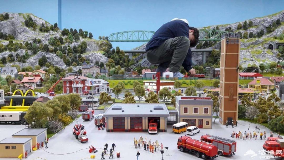 上海大梦微城火车模型乐园游玩项目一览 (图)[墙根网]