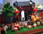 """""""南北遗韵,灵指相承""""的展览在中国华侨历史博物馆开幕"""