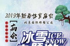 2019北京雕塑公园新春体育庙会活动时间、地址、门票