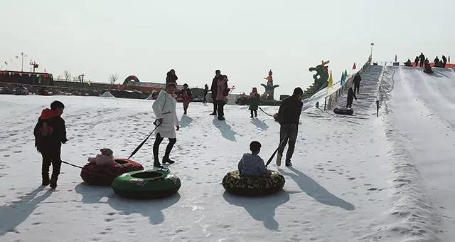 2019春节保定高碑店冀康农庄第二届大型民俗文化节