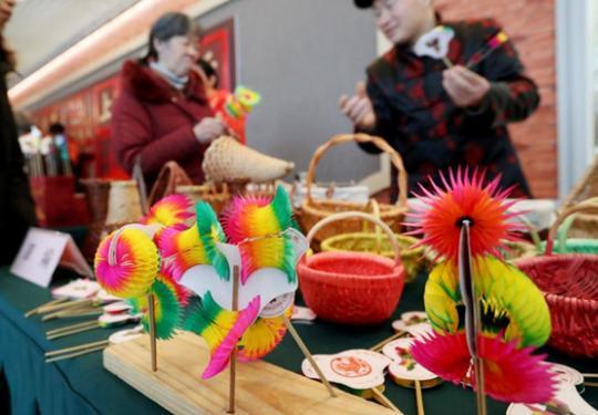 2019上海第十三届海上年俗风情展小年开幕