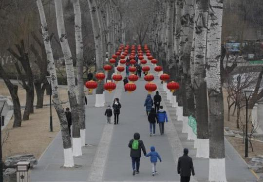 """2019玉渊潭公园春节活动开幕 邀游客体验传统""""年味儿"""""""