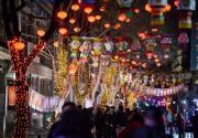 """厂甸庙会上""""前菜"""",800道灯谜挂进琉璃厂西街"""