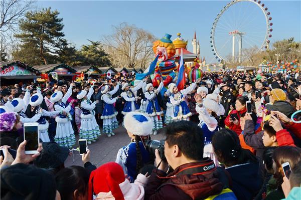 2019北京石景山游乐园春节庙会亮点、活动表演时间[墙根网]