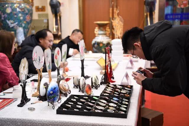 除了故宫,北京景泰蓝皇家艺术庙会最有宫廷味儿![墙根网]