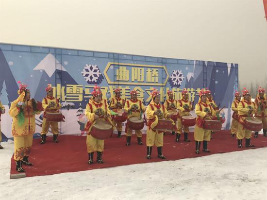 """春节去哪儿?正定曲阳桥""""沙洲湾冰雪节""""等您来嗨!"""